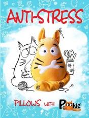 Anti-stress pillows with PookieCat