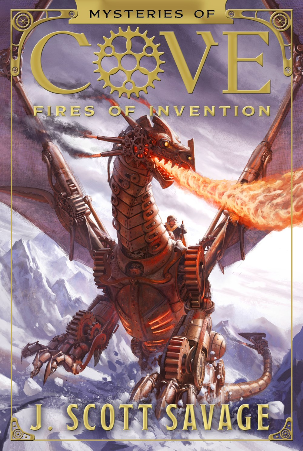 Fires of Invention (Mysteries of Cove Series)