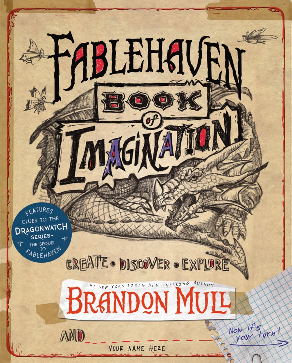 Fablehaven Book of Imagination (Dragonwatch Series)