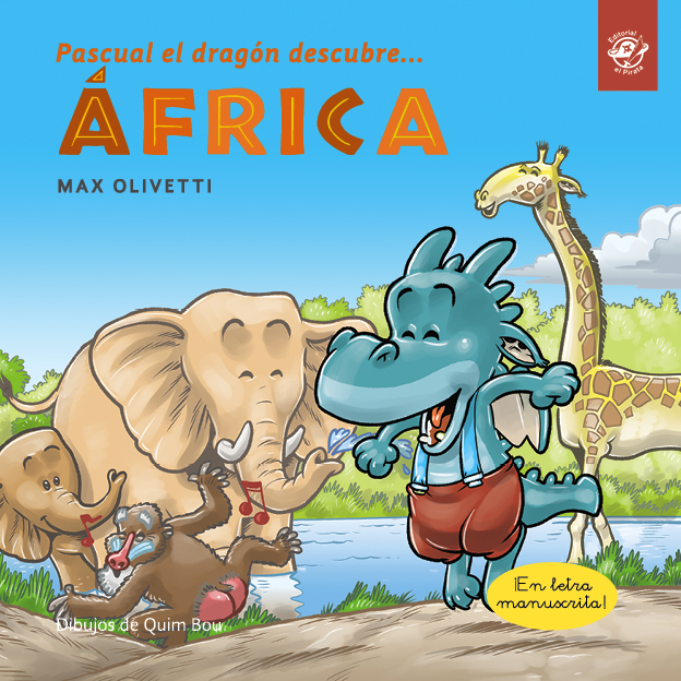 Pascual the dragon discovers Africa