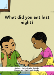 What Did You Eat Last Night?
