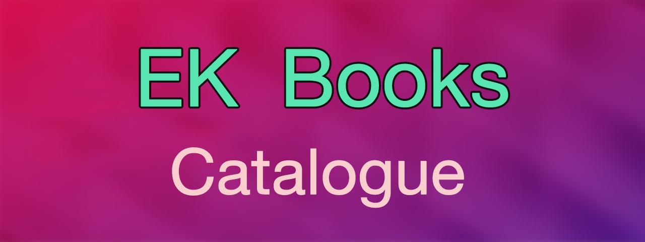 EK Books Catalogue