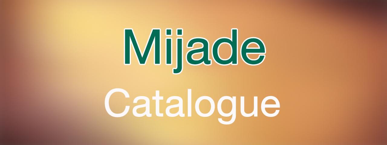 Mijade Catalogue