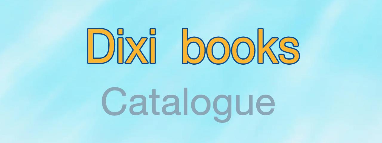 Dixi Books 2019 Catalogue
